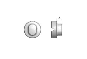 Blokada cerklarzu do otworów samodociskowych pod wkręty Ø3,5 mm i Ø4,0 mm