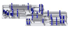 N-lock zestaw MINI
