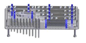 ZESPOL STANDARD paleta na implanty