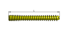 Headless compression screw 3,5